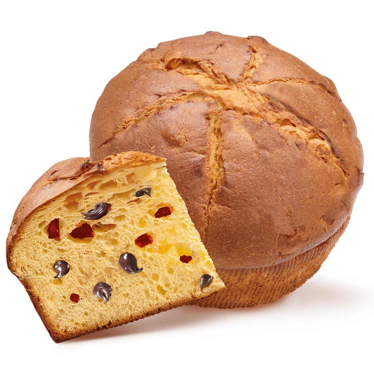 CHERRY AND CHOCOLATE ORGANIC PANETTONE